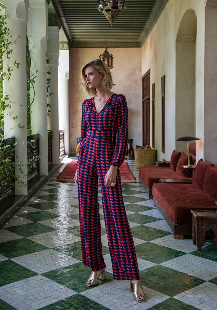 alice-jumpsuit-houndstooth-coral-mena ryan