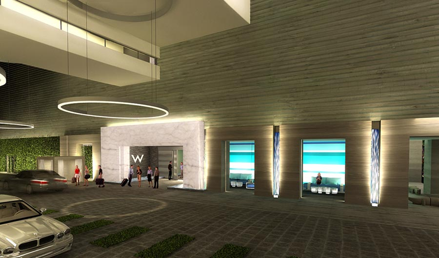 Design plans for W Fort Lauderdale Hotel