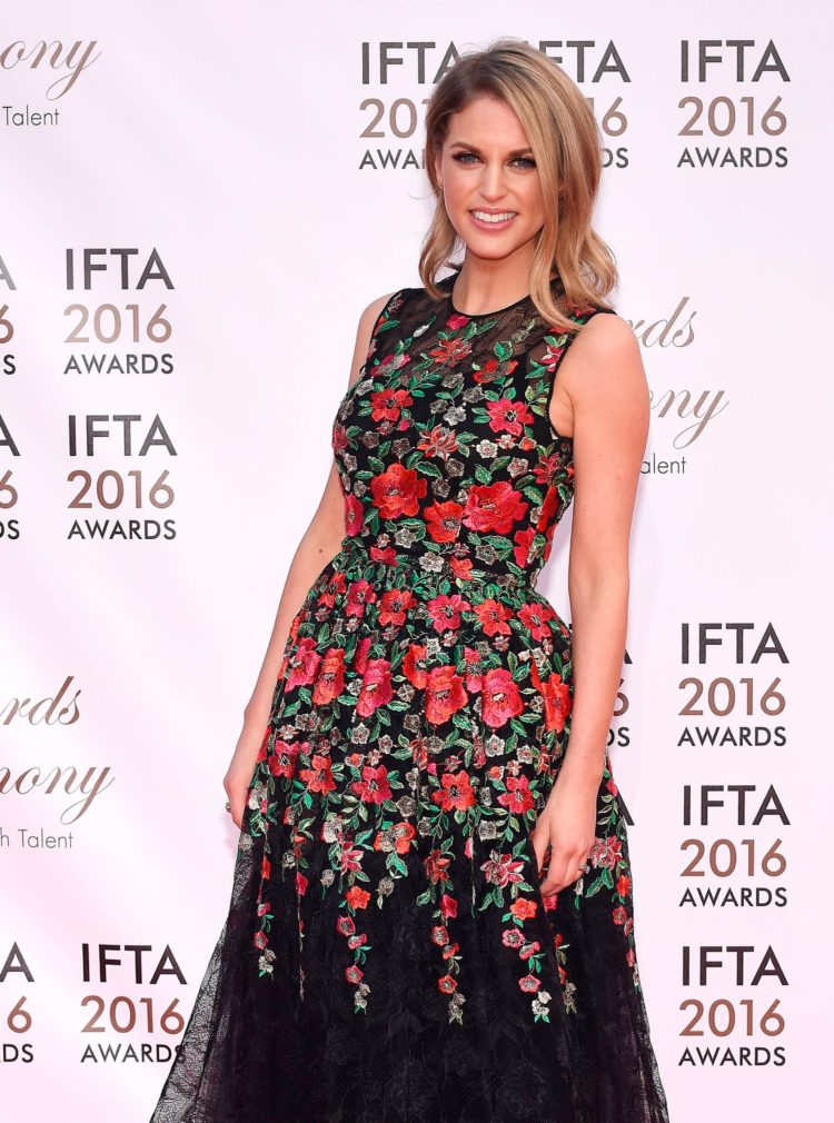 IFTA Awards 2016 at The Mansion House, Dublin, Ireland - 09.04.16. Pictures: G. McDonnell / VIPIRELAND.COM **IRISH RIGHTS ONLY** *** Local Caption *** Amy Huberman
