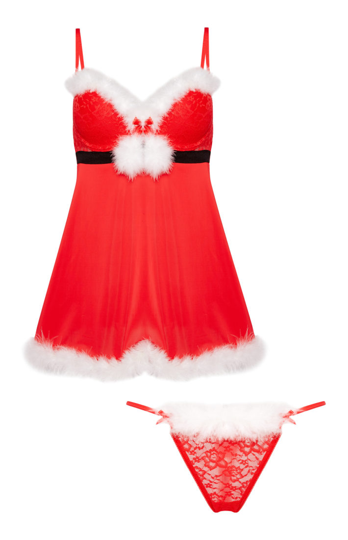 e8824ce7b5d8 There's nothing quite like the soft lighting of Christmas to encourage sexy  lingerie. This festive season there's something for every body shape, ...
